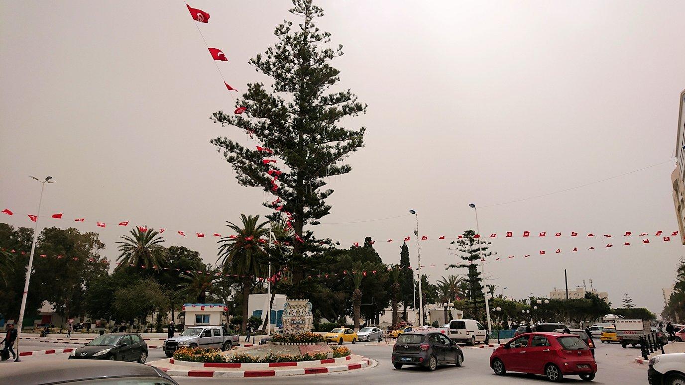 チュニジア:ナブールの街で旧市街地を引き返す9