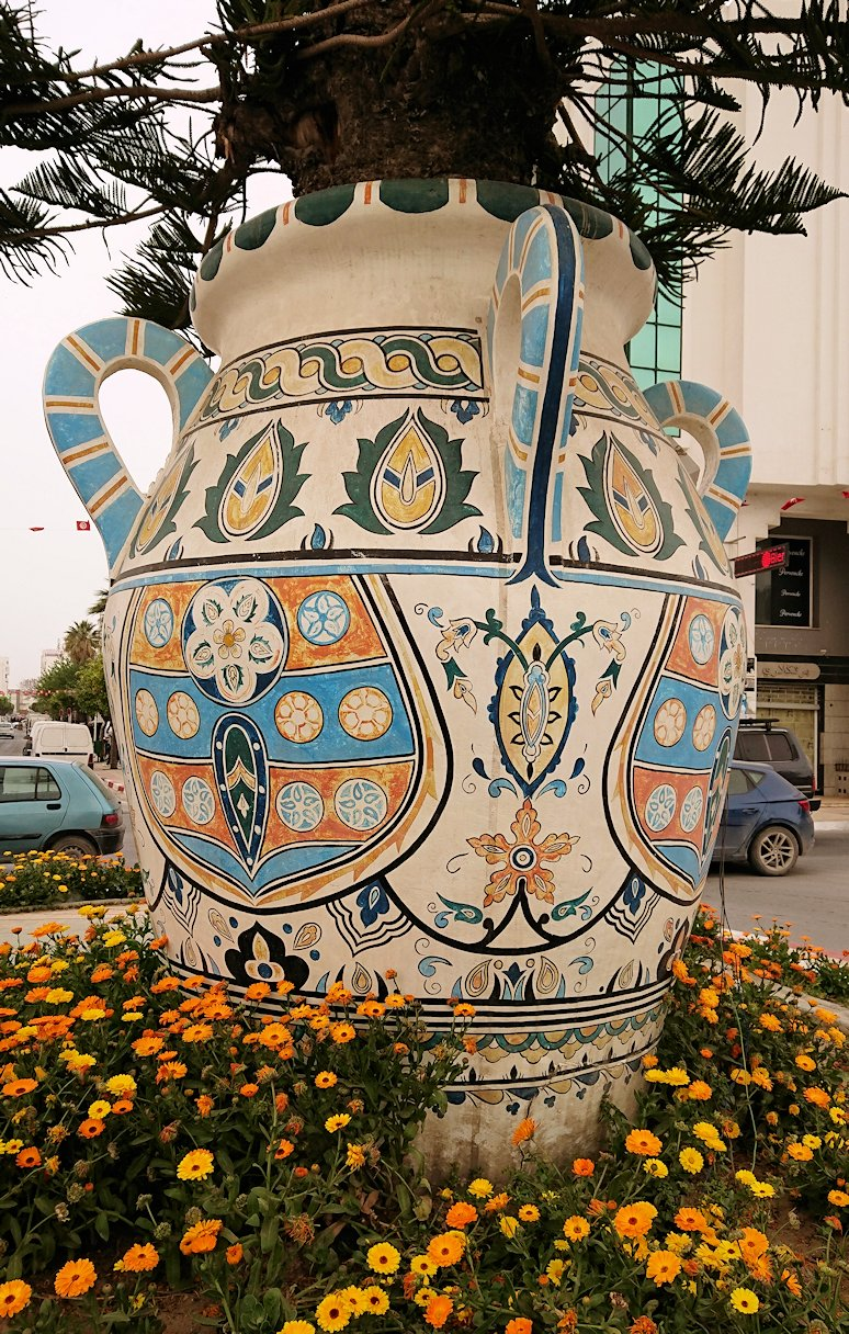 チュニジア:ナブールの街での観光は終了