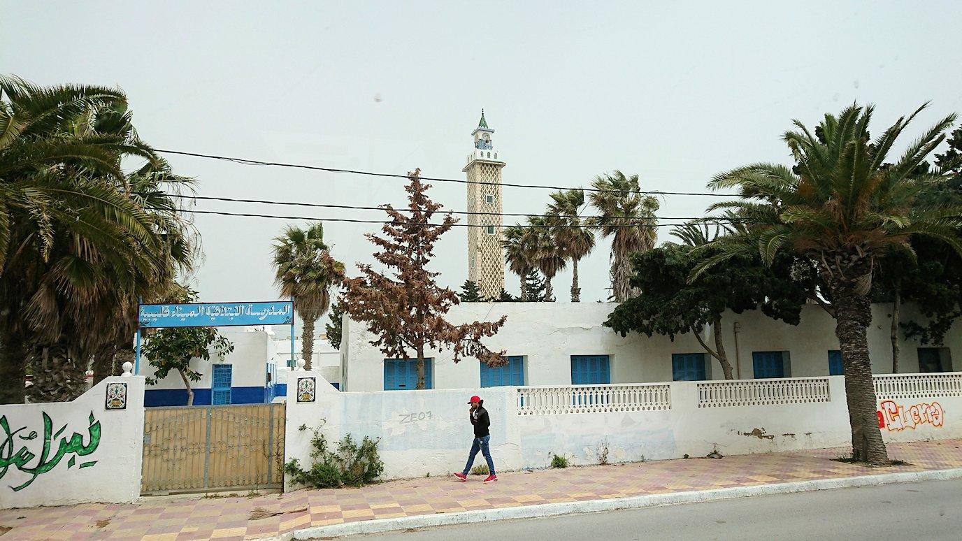 チュニジア:ナブールからケリビアに向かう道中の景色8