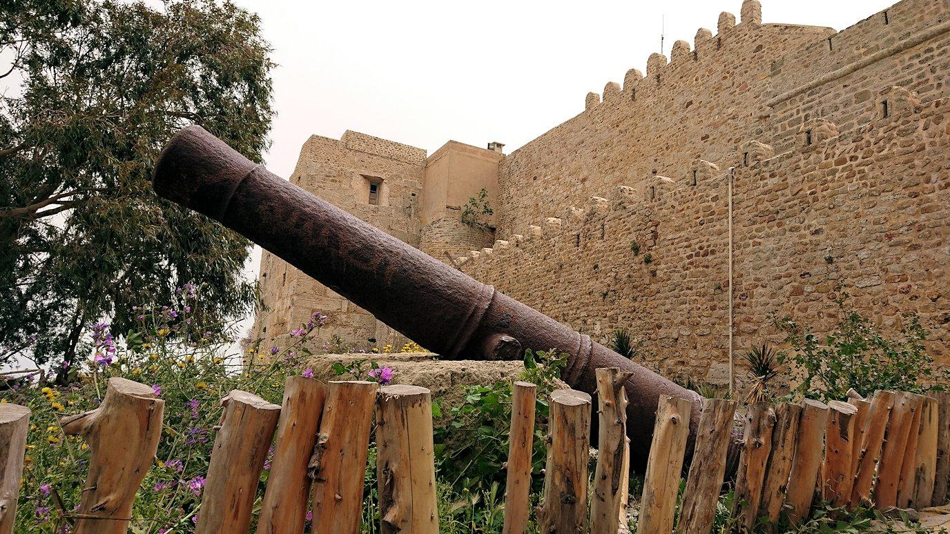 チュニジア:ケリビアの城塞跡に到着5