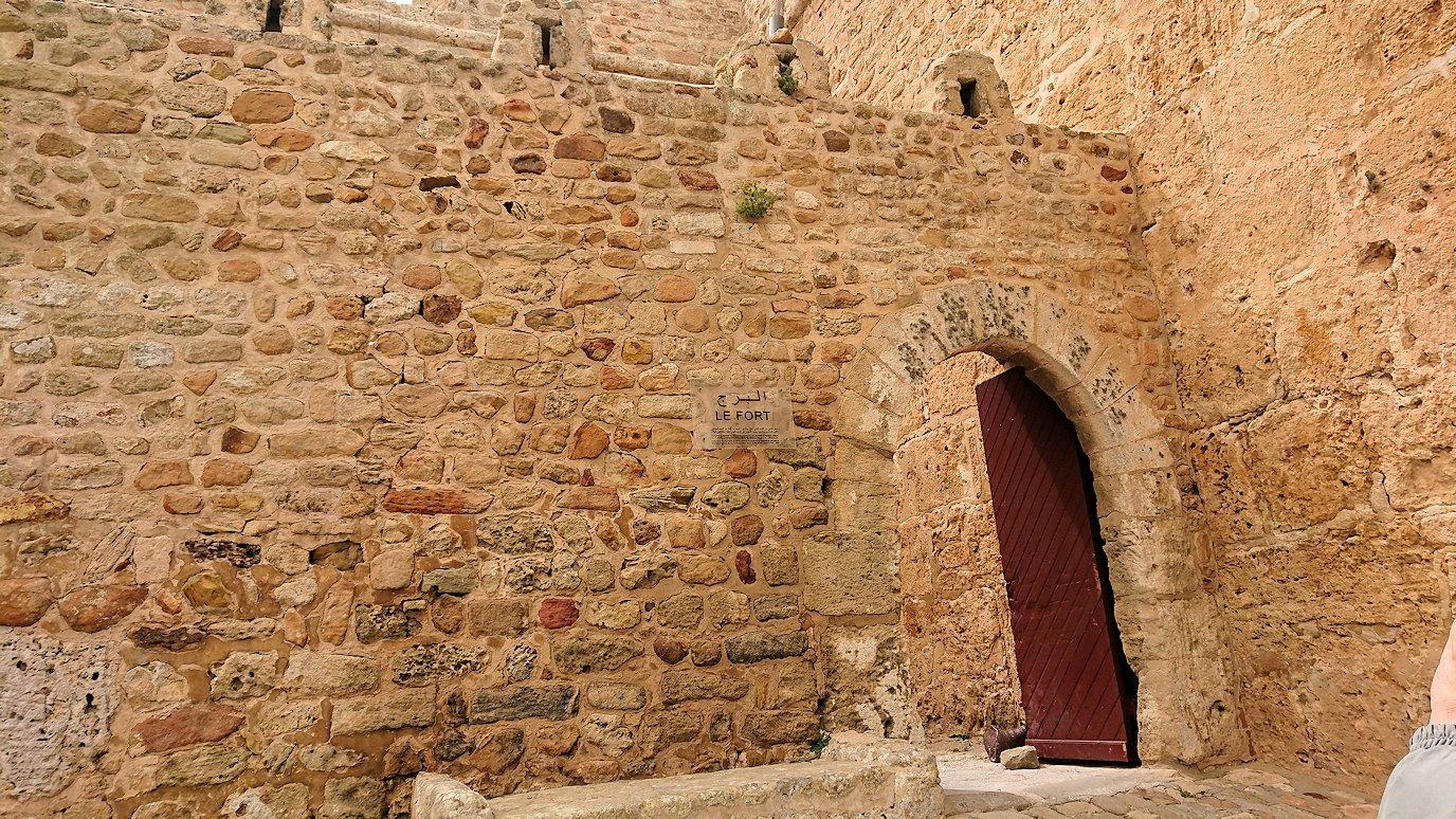 チュニジア:ケリビアの城塞跡に到着6