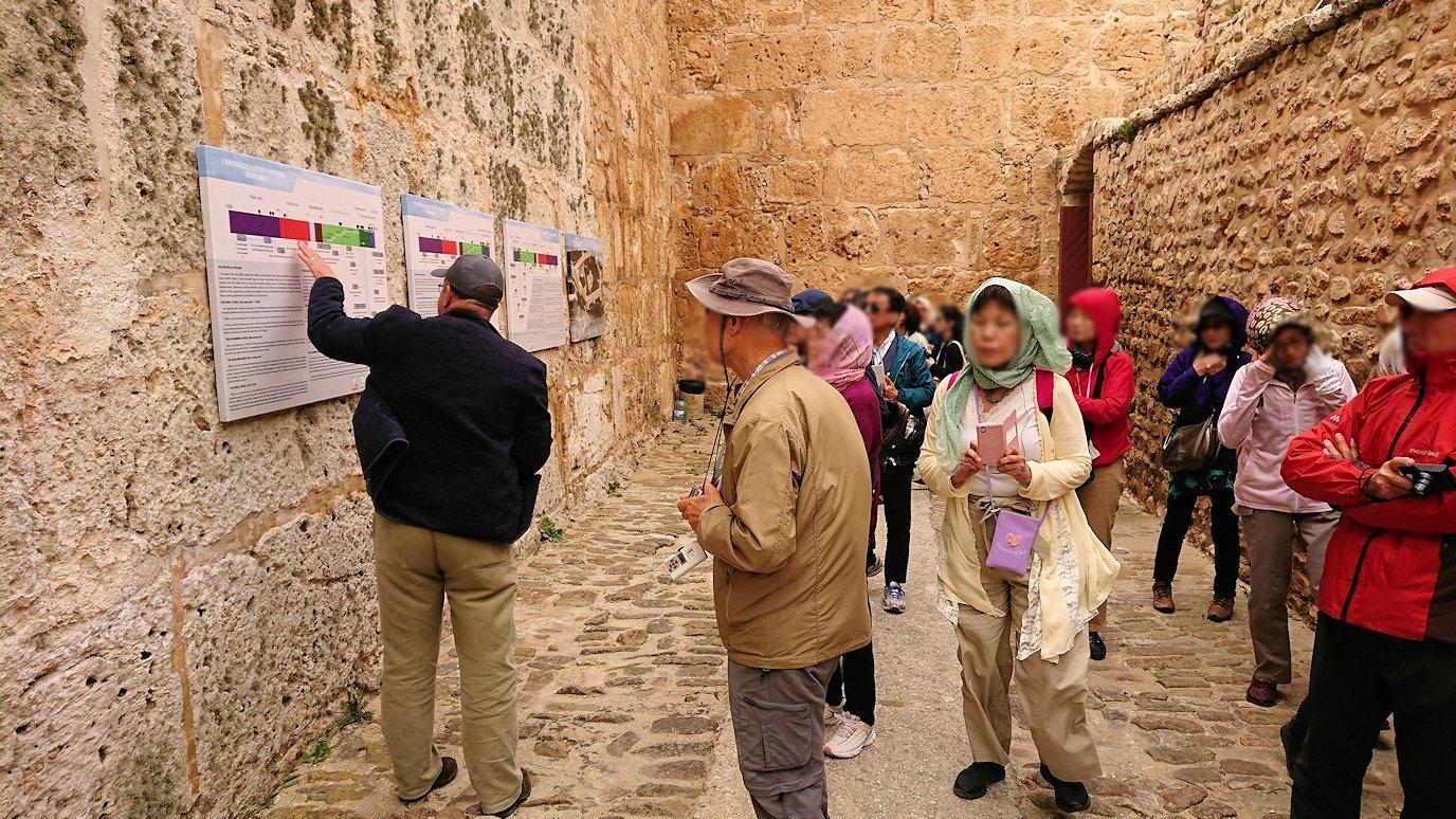 チュニジア:ケリビアの城塞跡に入っていきます3