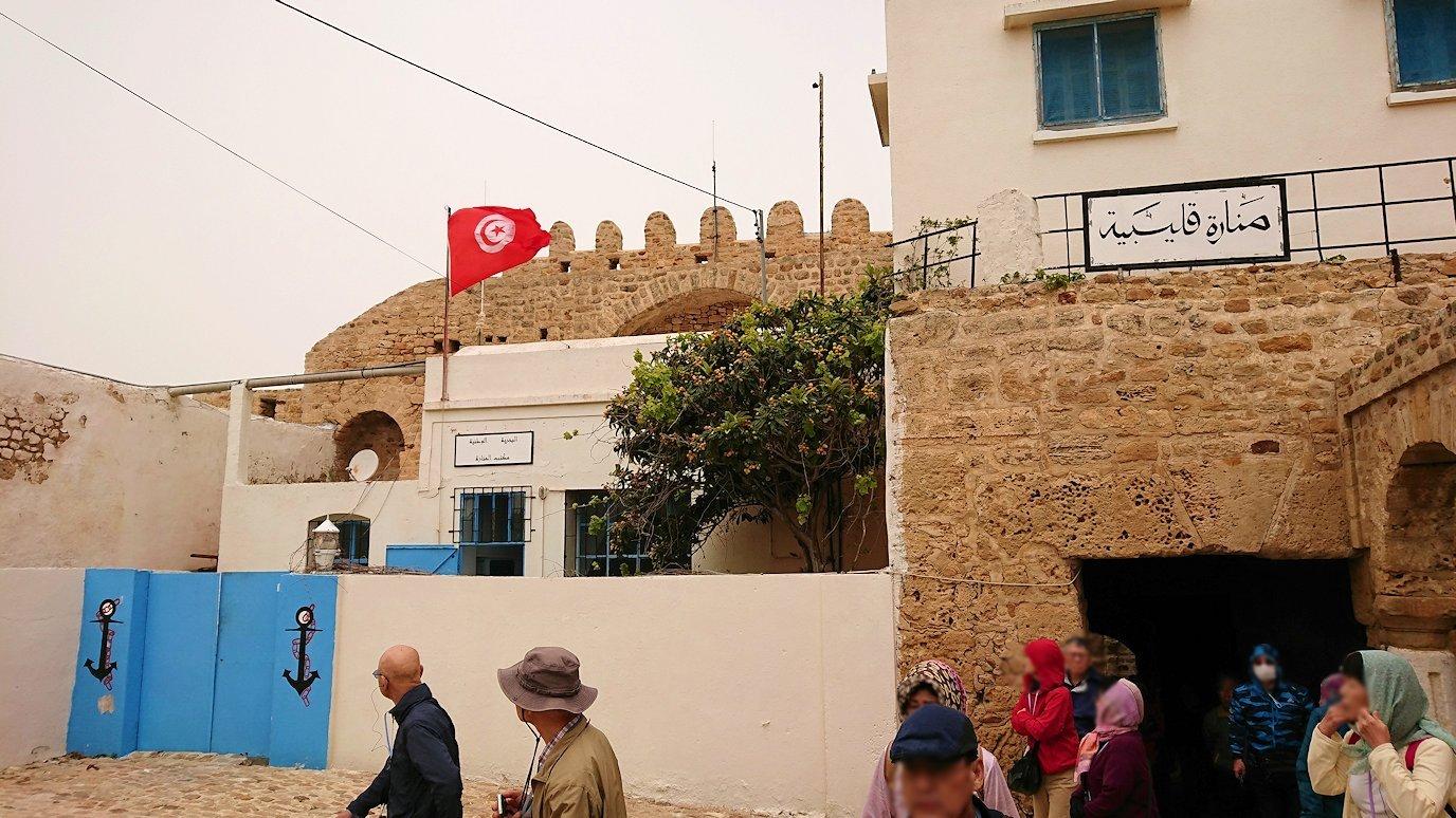 チュニジア:ケリビアの城塞跡の様子は