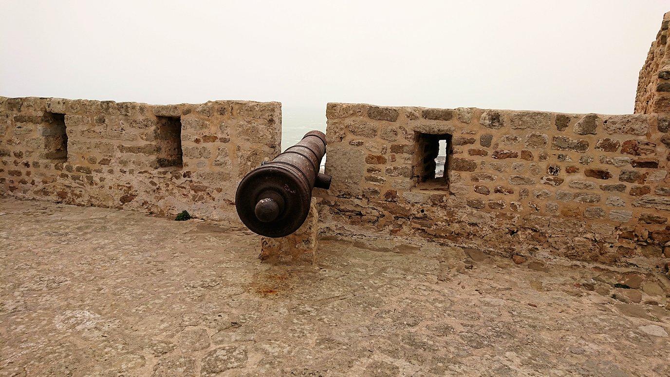 チュニジア:ケリビアの城塞跡の様子は9
