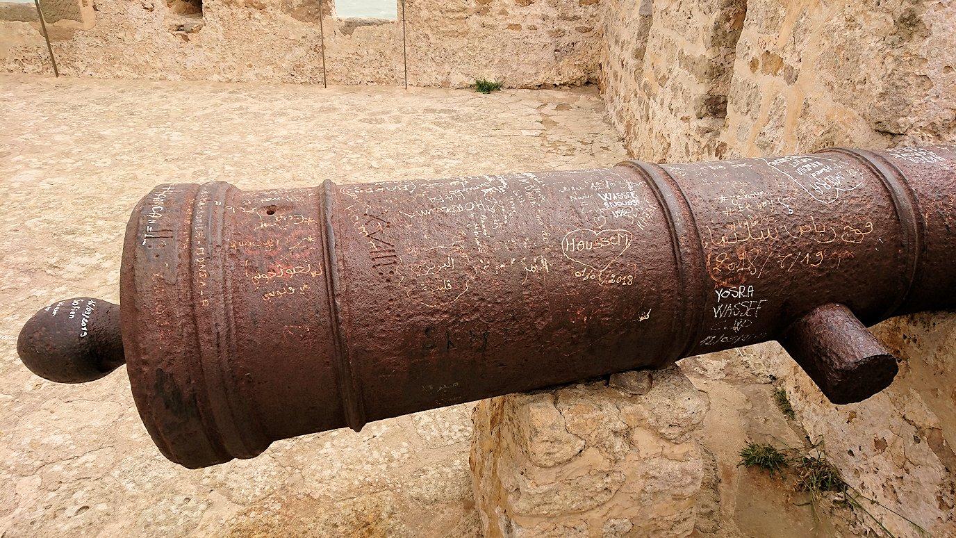 チュニジア:ケリビアの城塞跡の様子は1