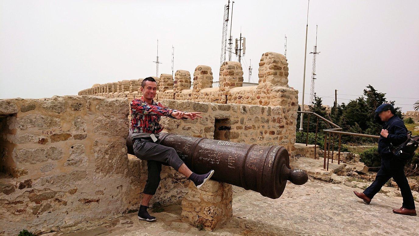 チュニジア:ケリビアの城塞跡の様子は2
