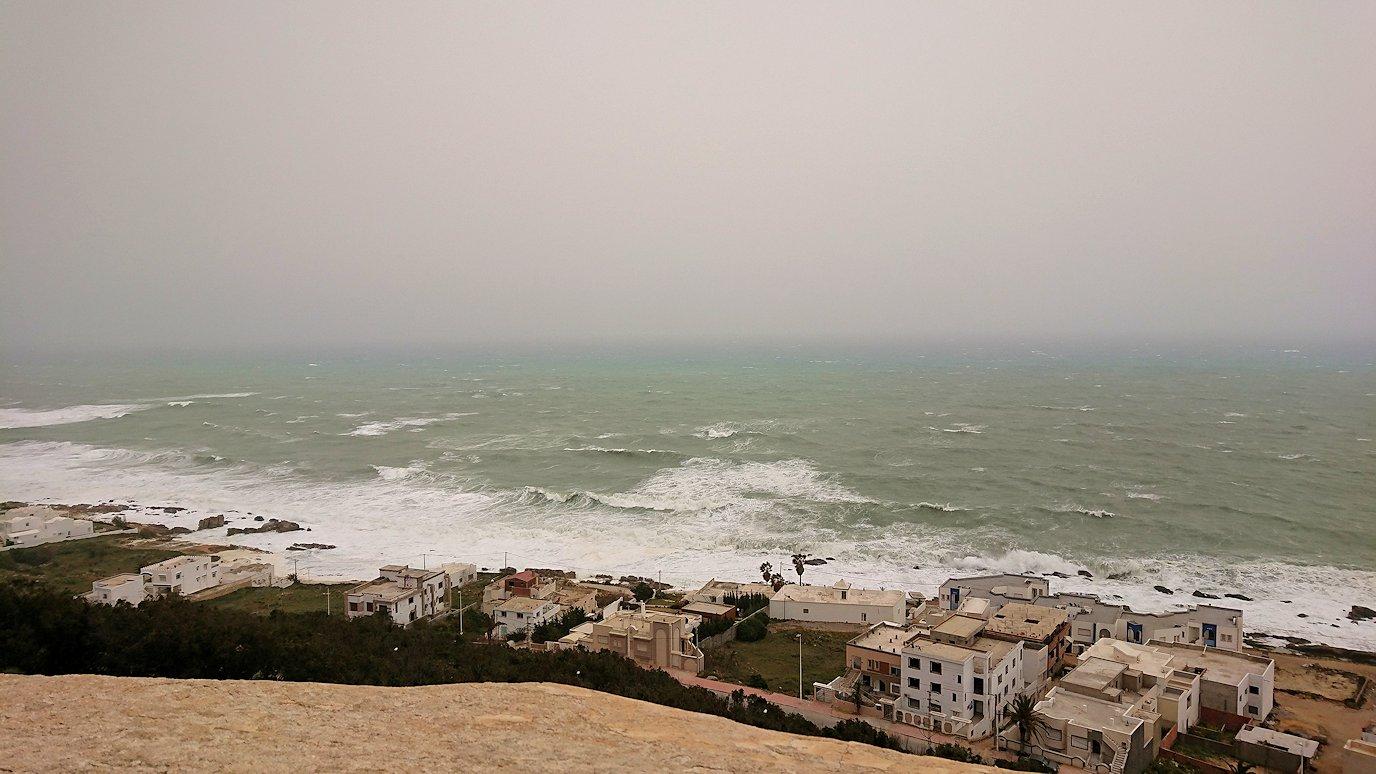 チュニジア:ケリビアの城塞付近からの眺め2