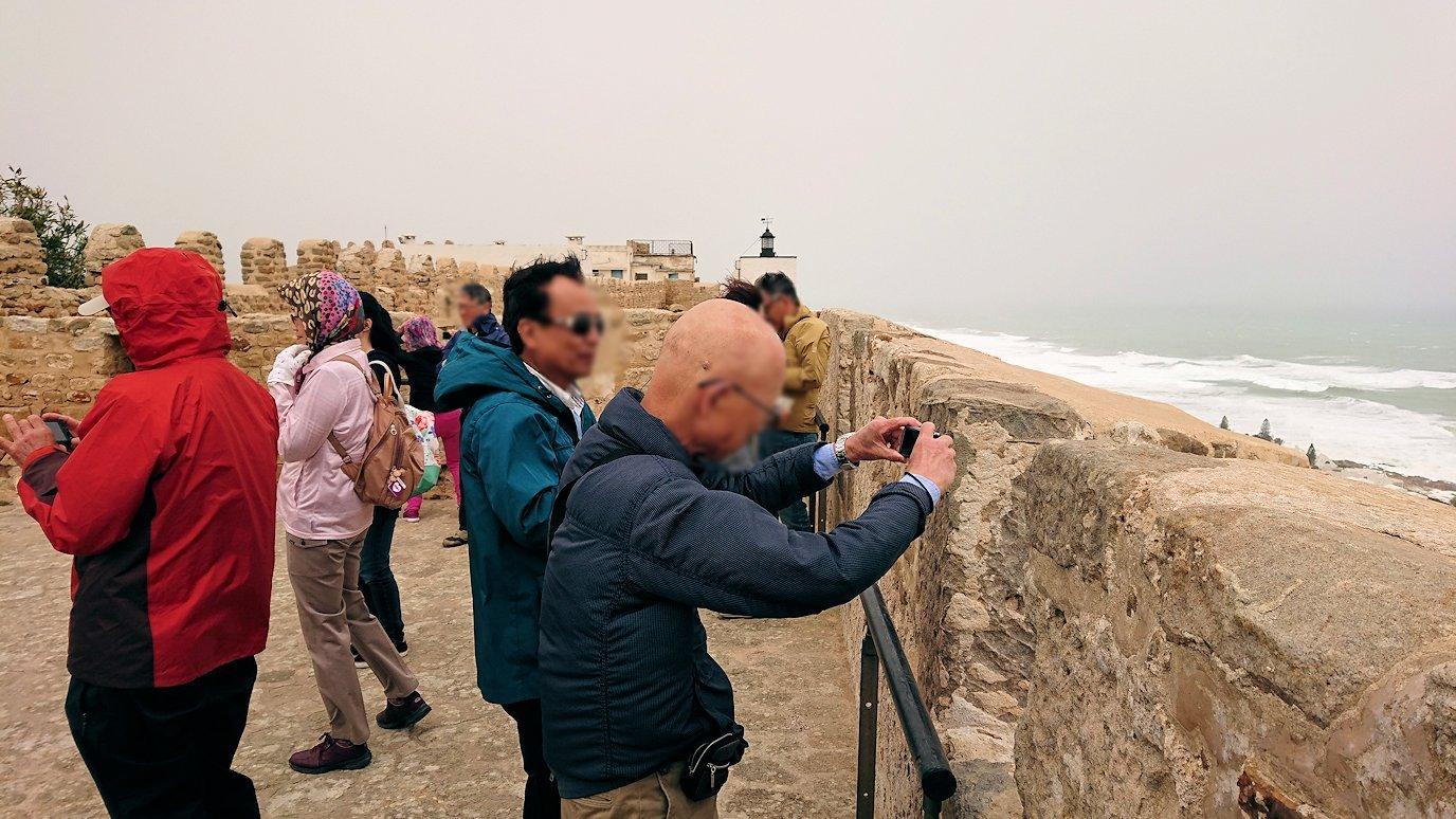 チュニジア:ケリビアの城塞付近からの眺め3