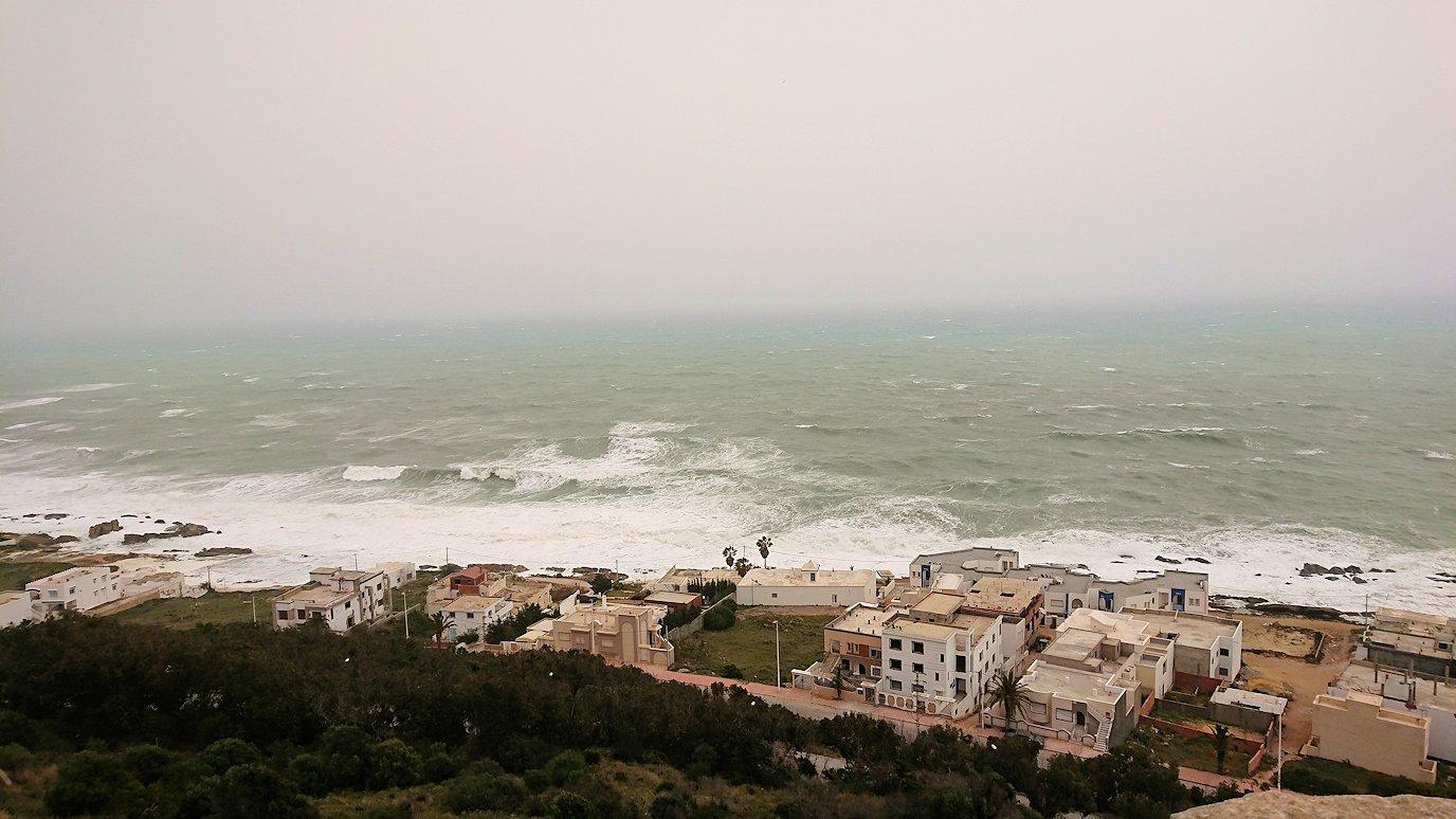 チュニジア:ケリビアの城塞付近からの眺め4