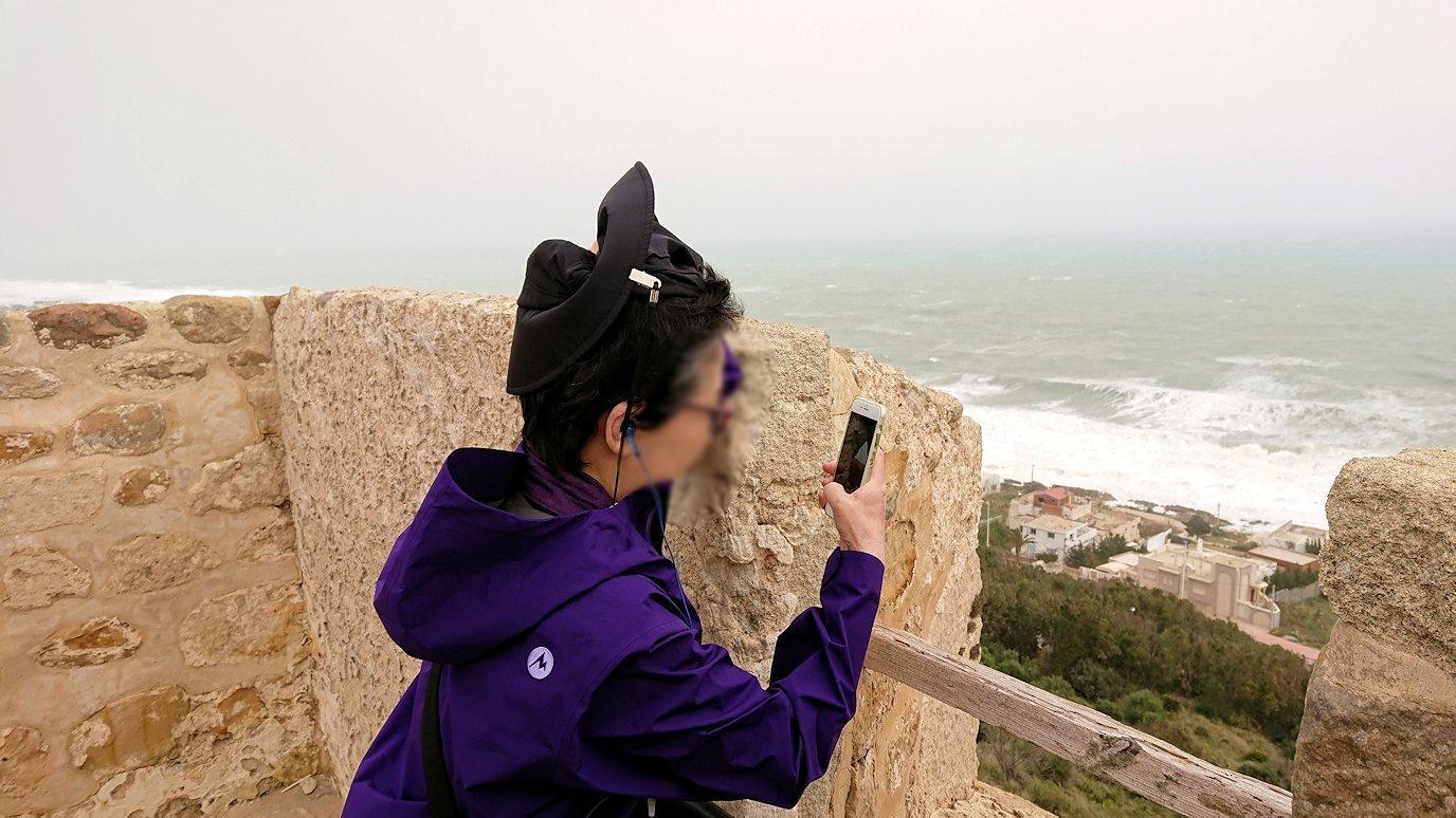 チュニジア:ケリビアの城塞付近からの眺め6