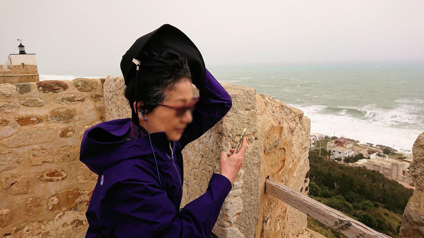 チュニジア:ケリビアの城塞付近からの眺め7
