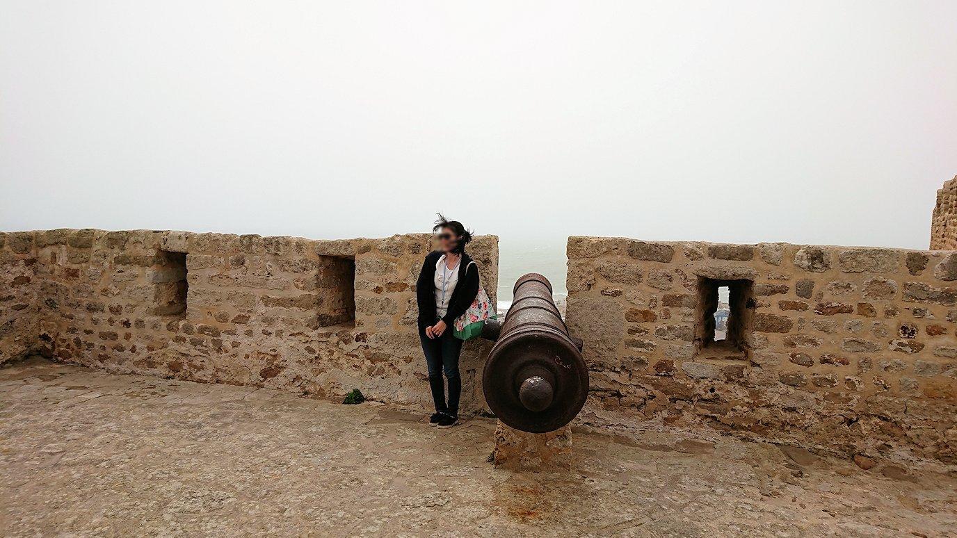チュニジア:ケリビアの城塞内を散策