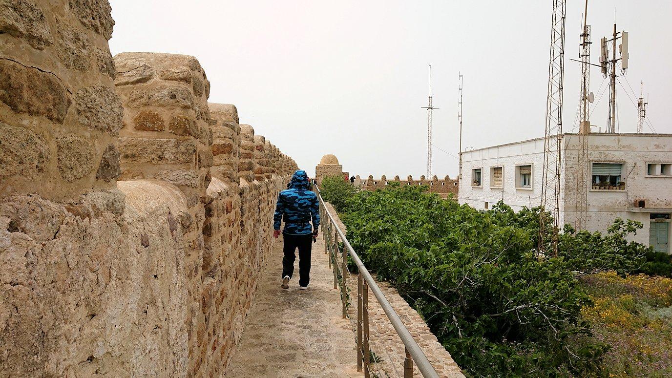 チュニジア:ケリビアの城塞内を散策4