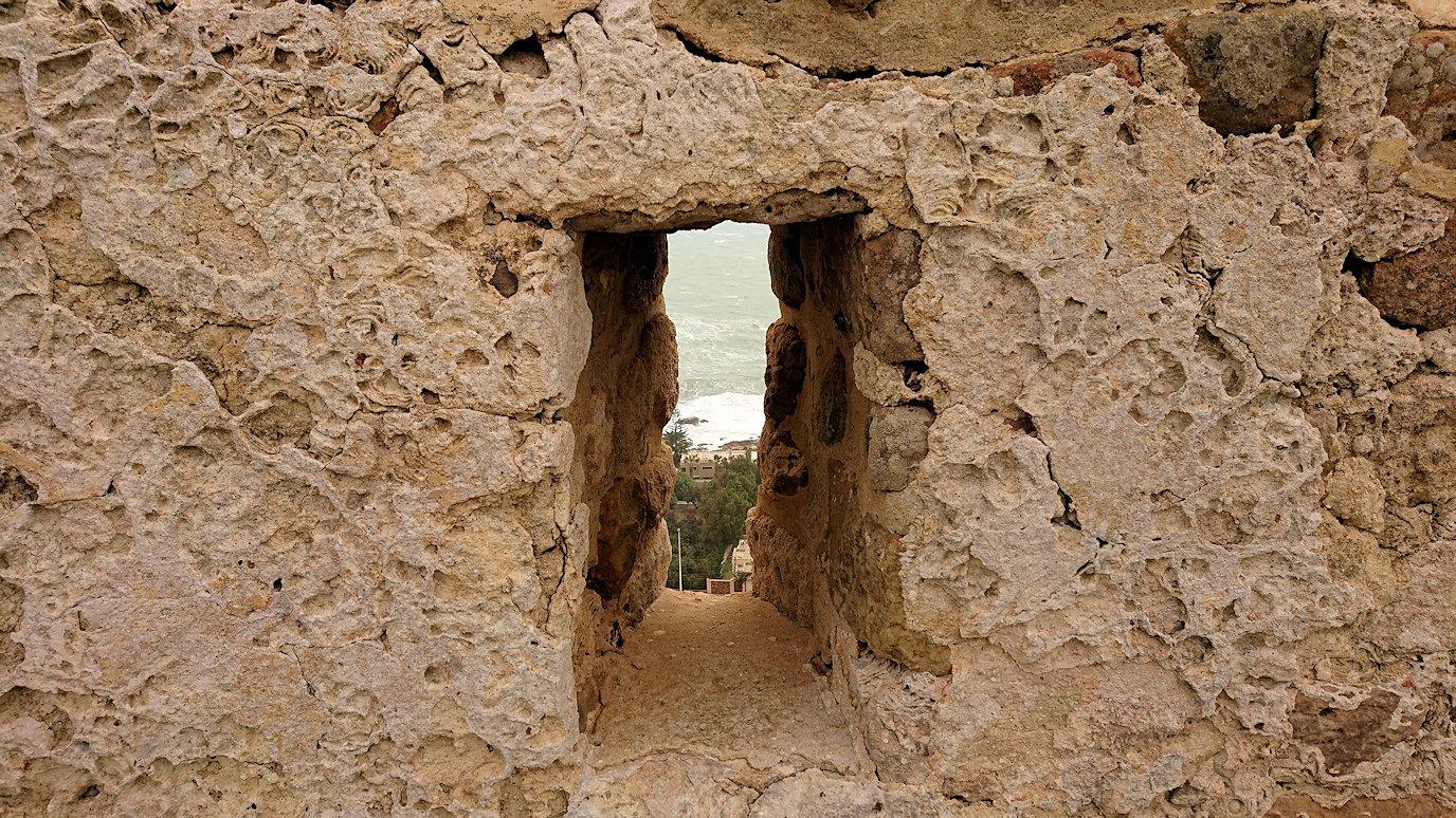 チュニジア:ケリビアの城塞内を散策6
