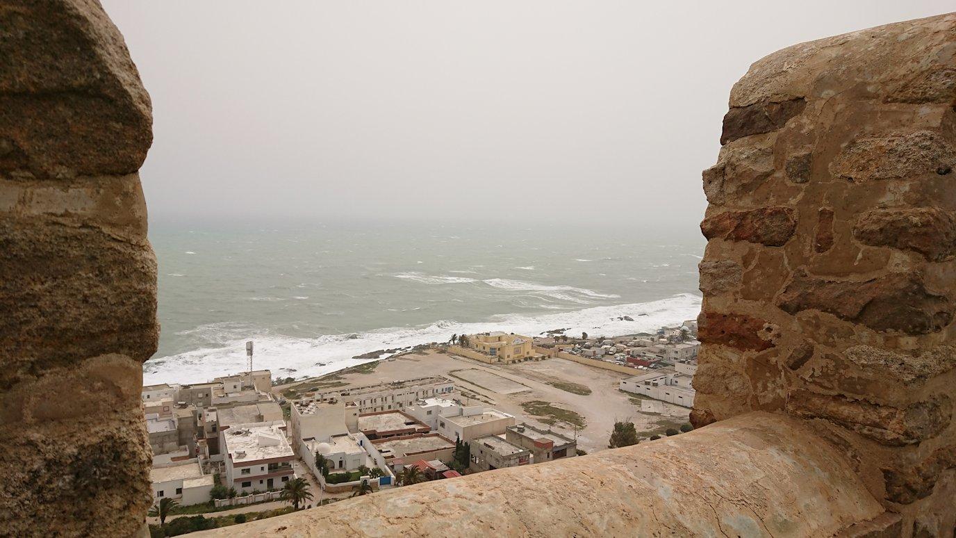 チュニジア:ケリビアの城塞内を散策9