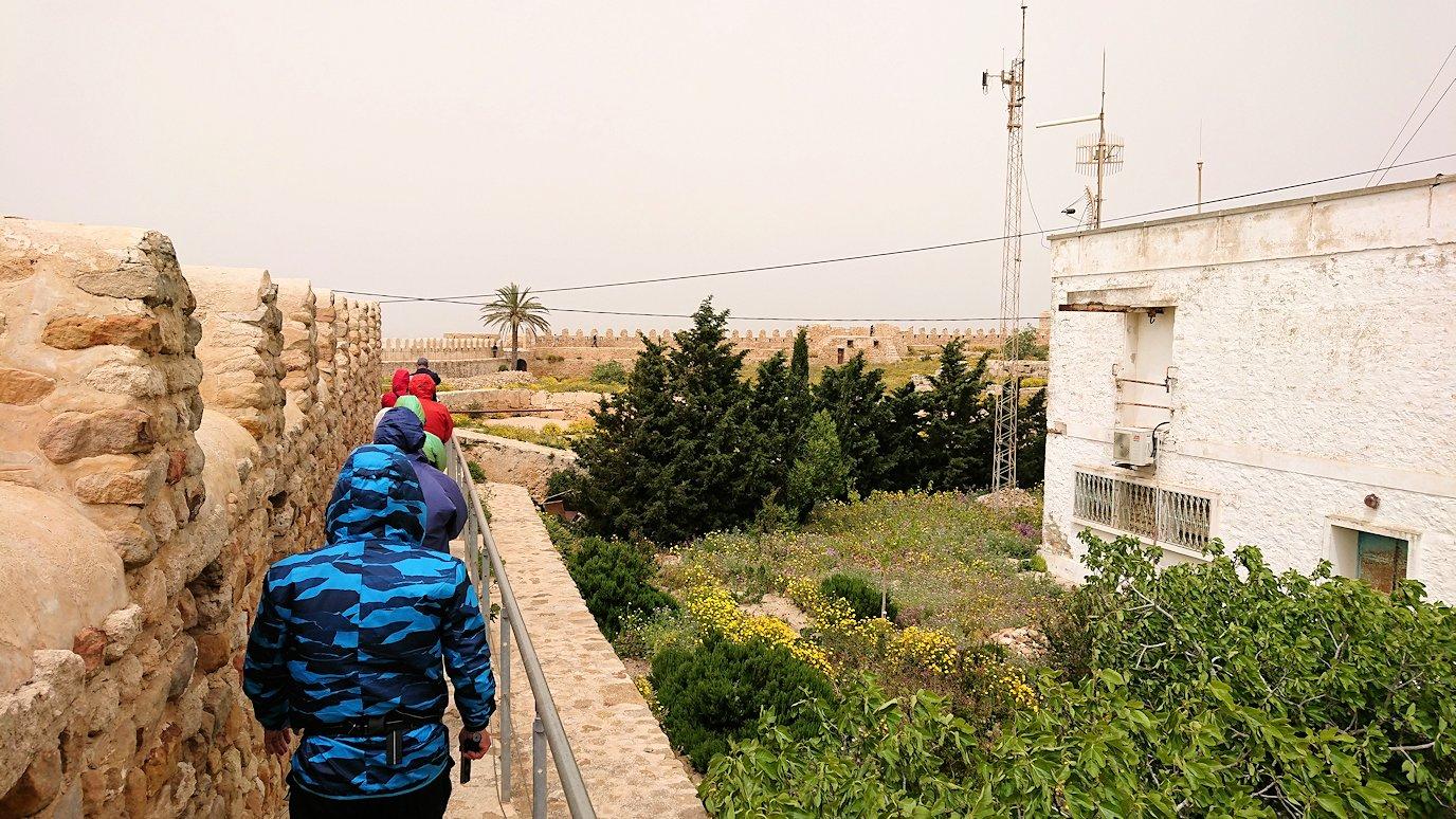 チュニジア:ケリビアの城塞内を散策2