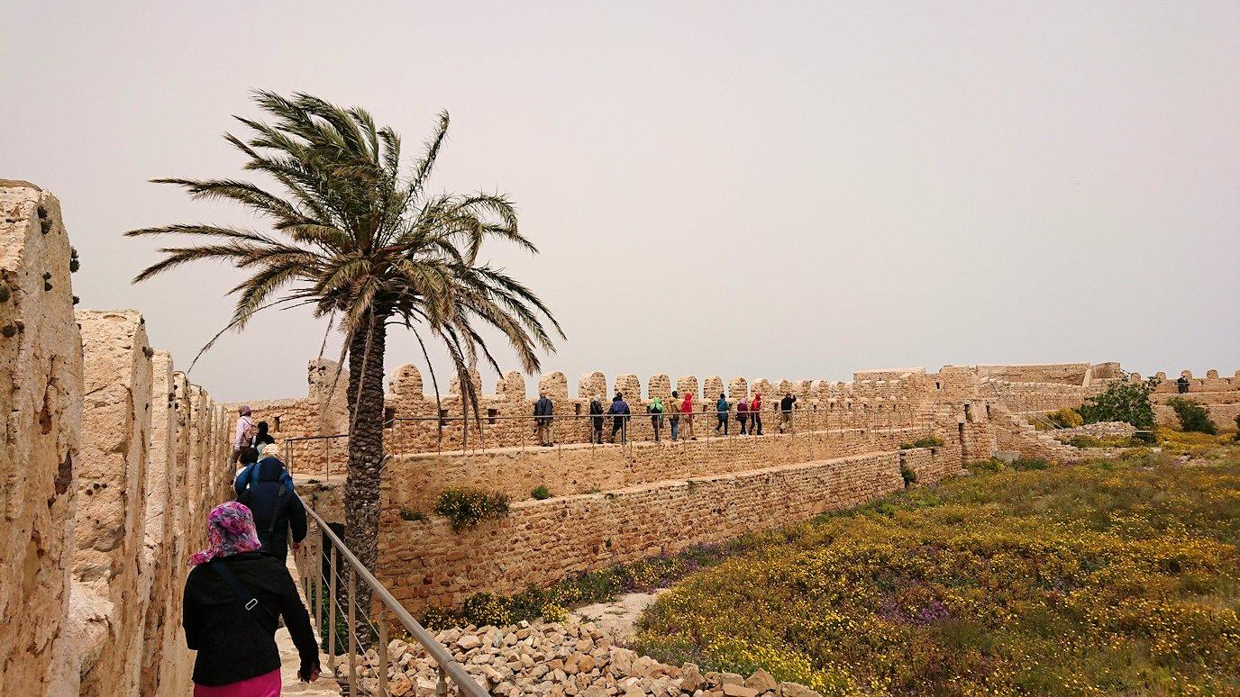 チュニジア:ケリビアの城塞跡の見学はまだまだ続く
