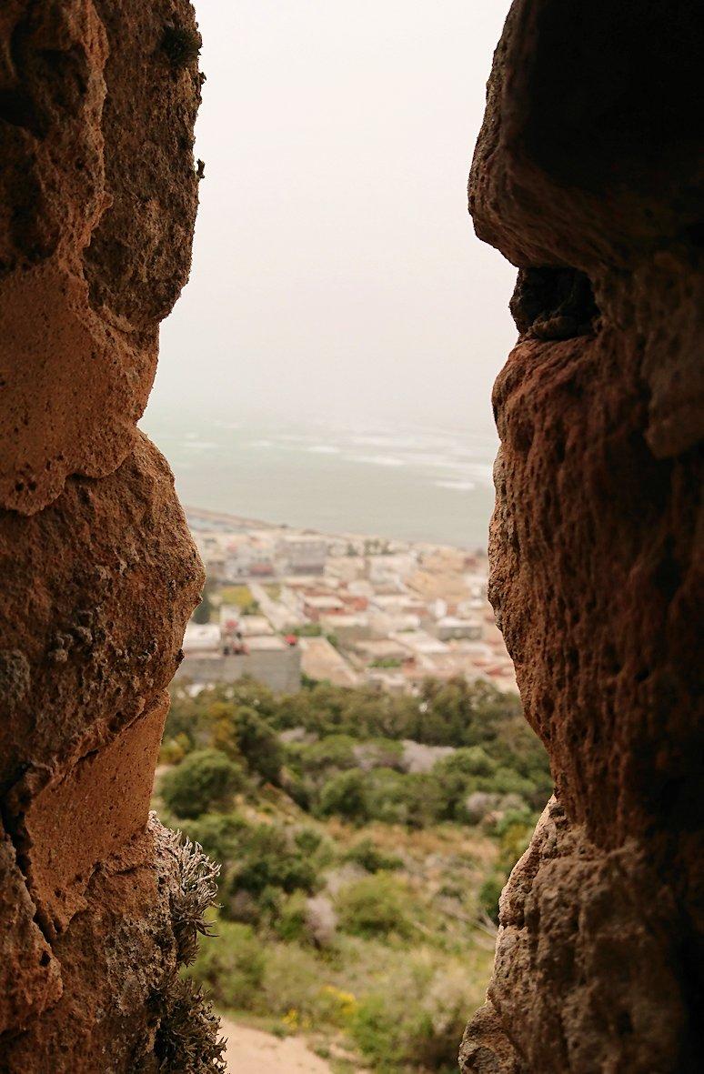 チュニジア:ケリビアの城塞跡の見学はまだまだ続く3