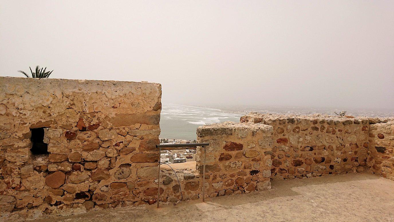 チュニジア:ケリビアの城塞跡の見学はまだまだ続く7