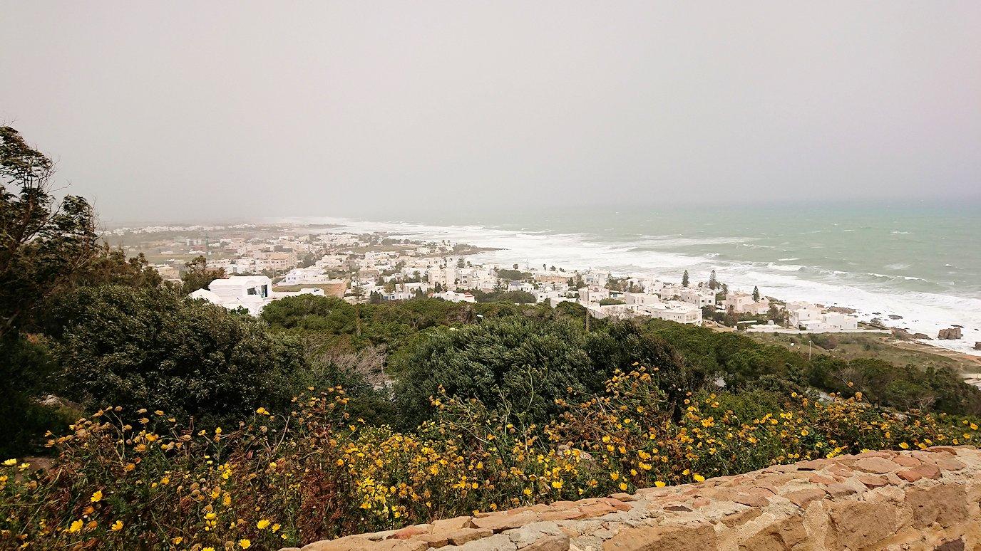 チュニジア:ケリビアの城塞の観光も終了し次に移動します2