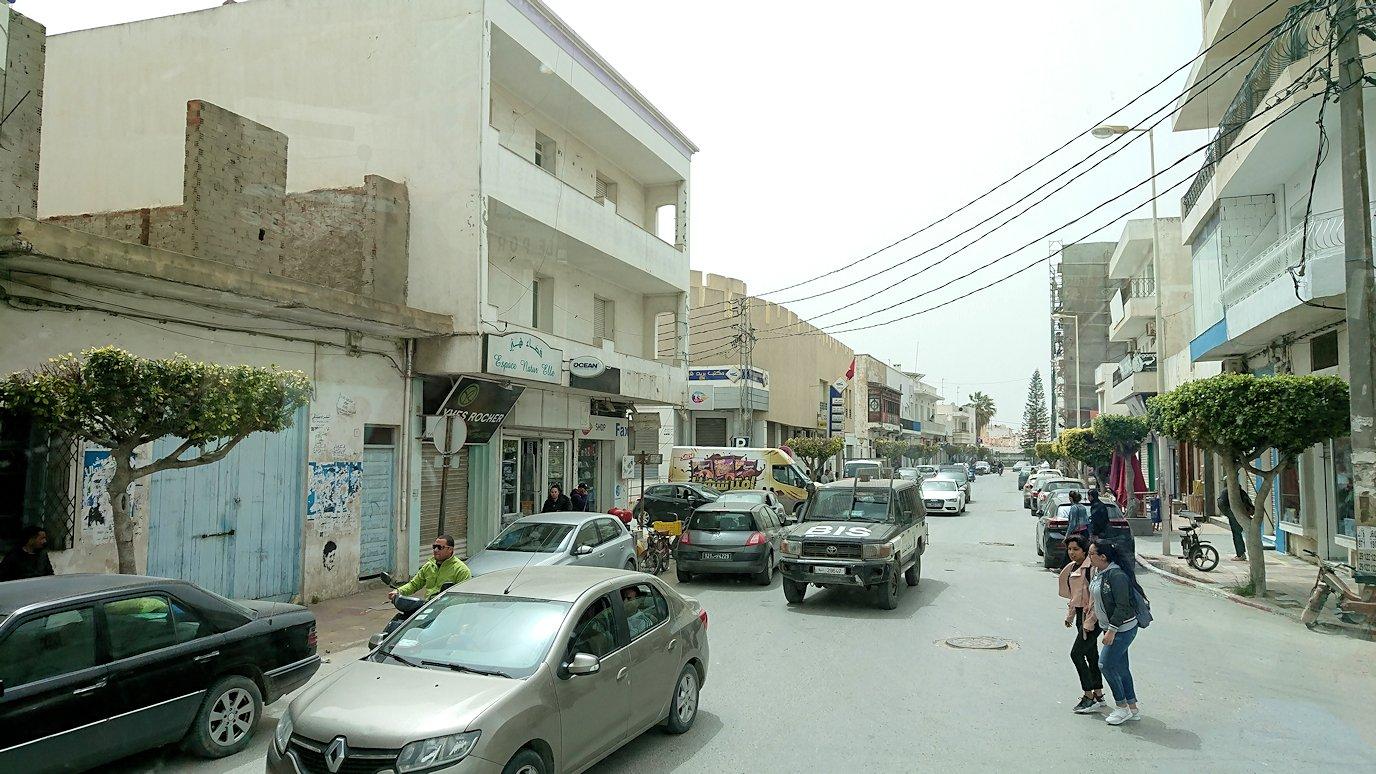 チュニジア:ケリビアの城塞の観光も終了し次に移動します4