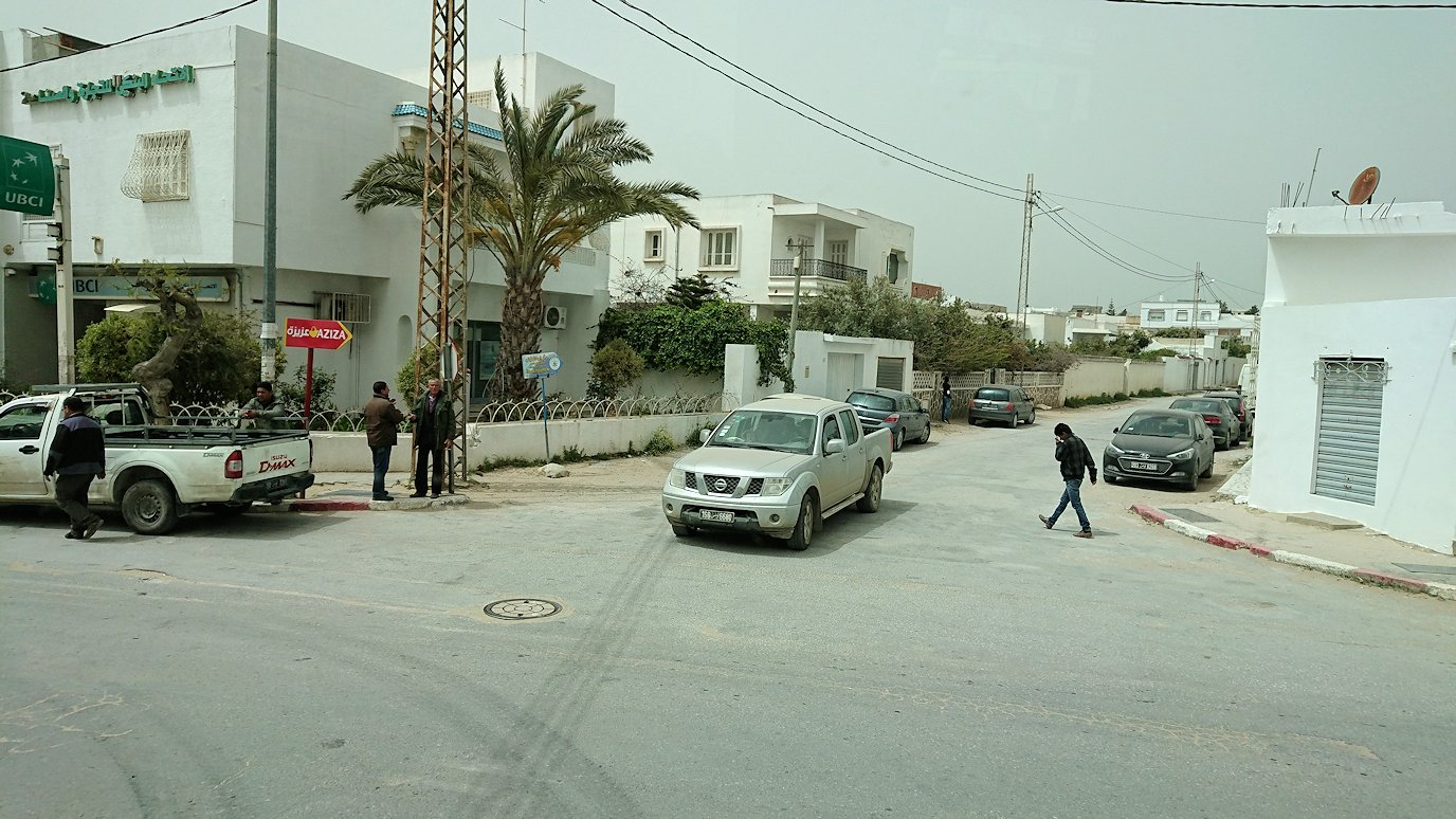 チュニジア:ケリビアの城塞の観光も終了し次に移動します6