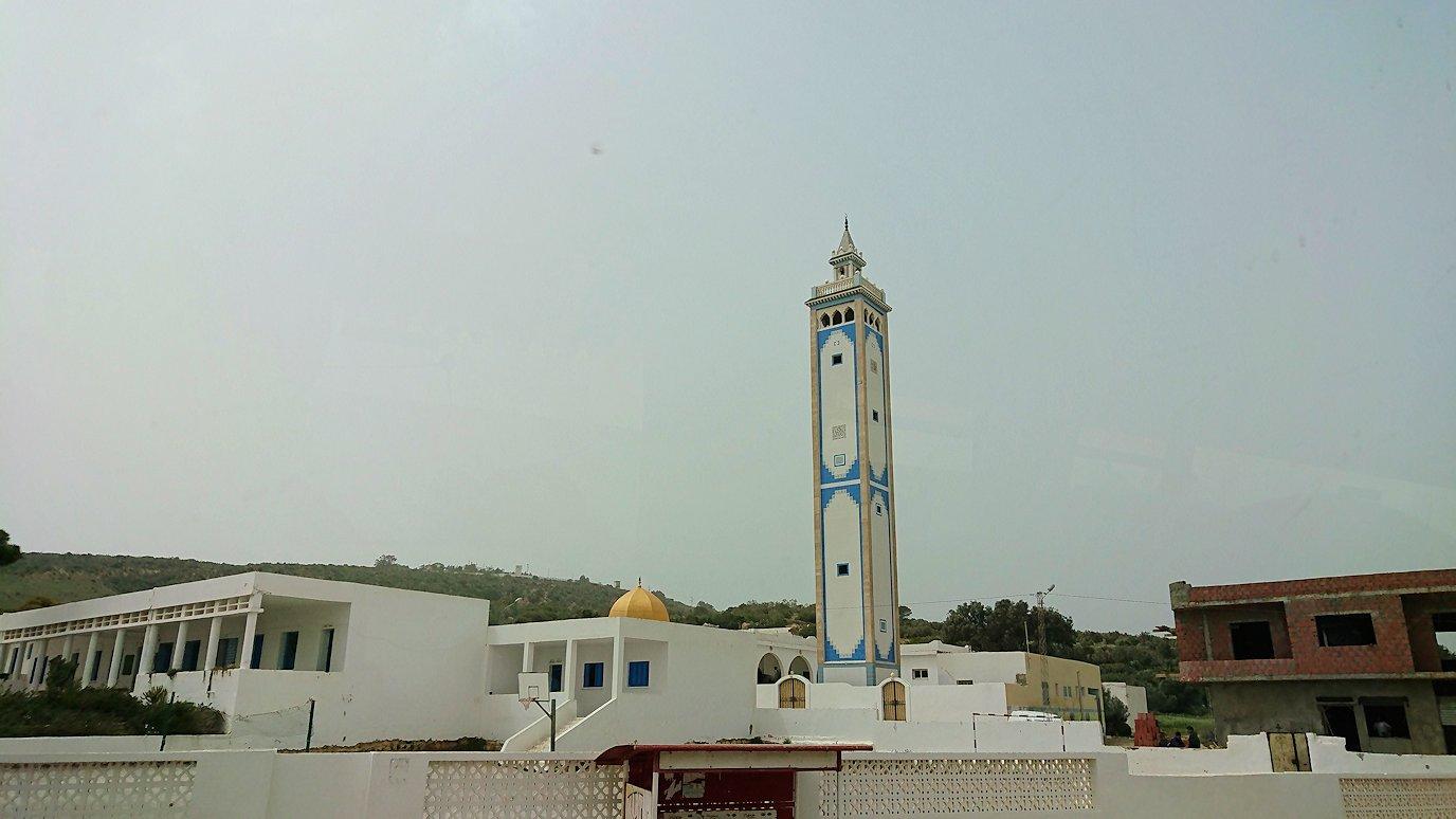 チュニジア:ケリビアの城塞の観光も終了し次に移動します11