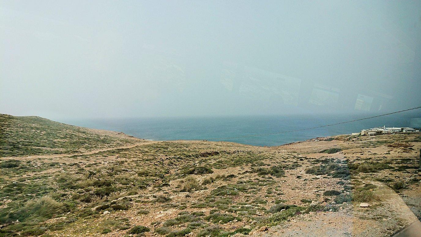 チュニジア:ボン岬のレストランに向かう4