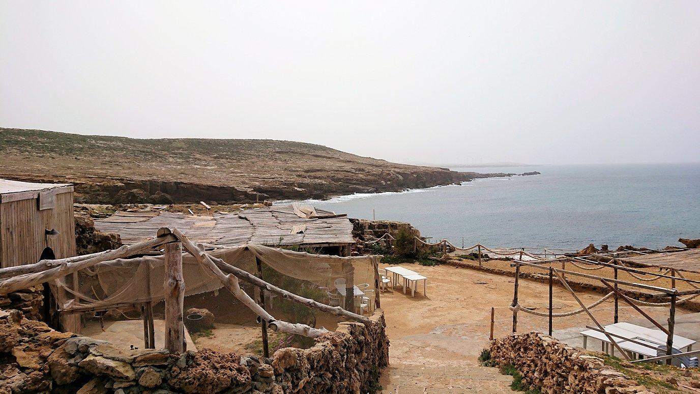 チュニジア:ボン岬のレストラン付近の景色1