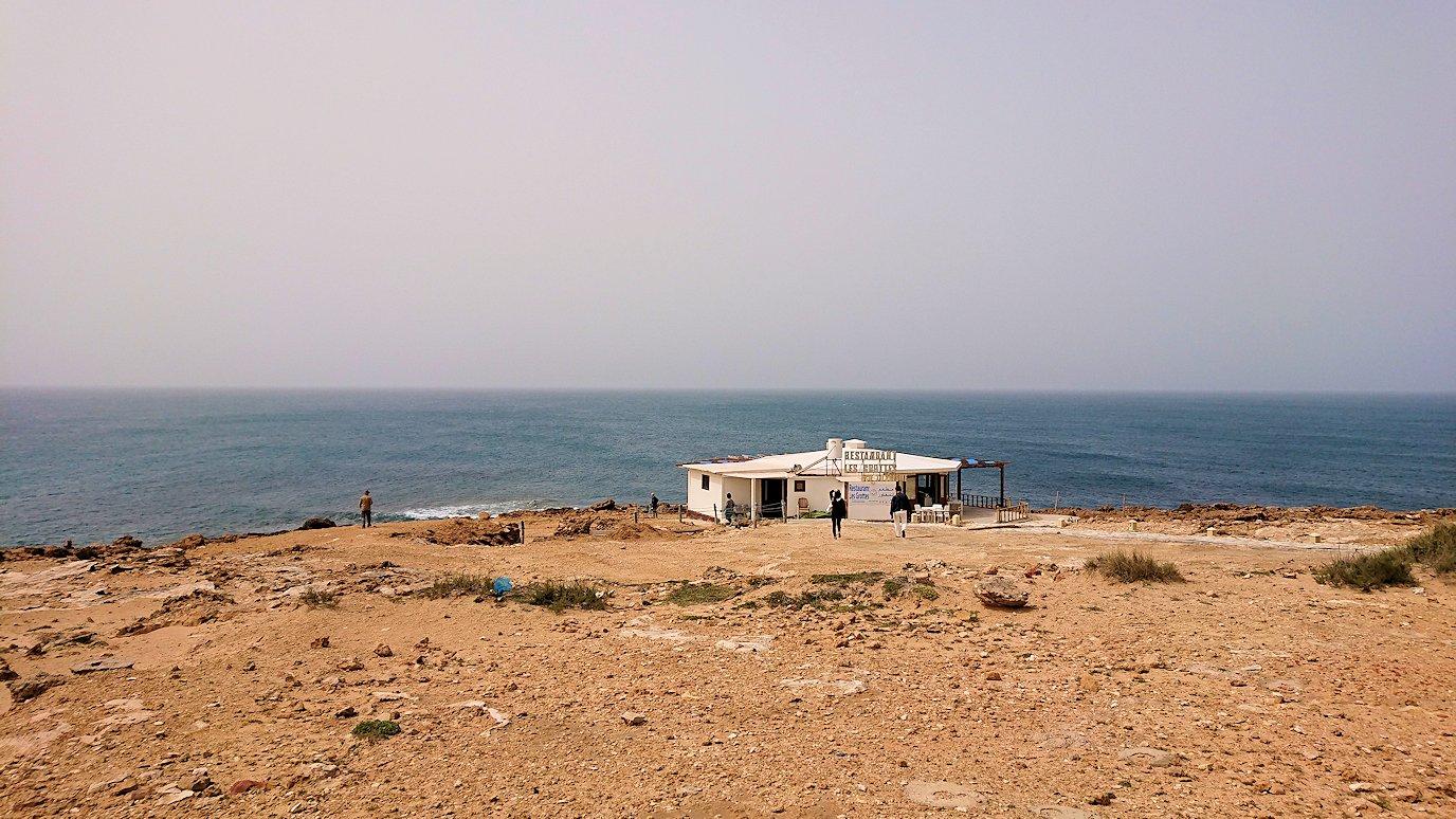 チュニジア:ボン岬のレストラン付近の景色2