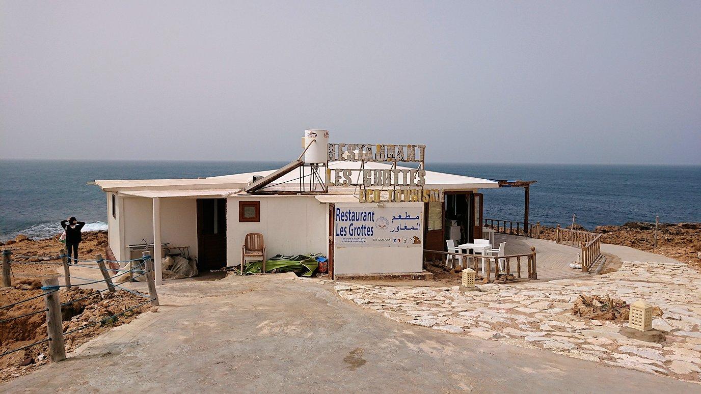 チュニジア:ボン岬のレストラン付近の景色3