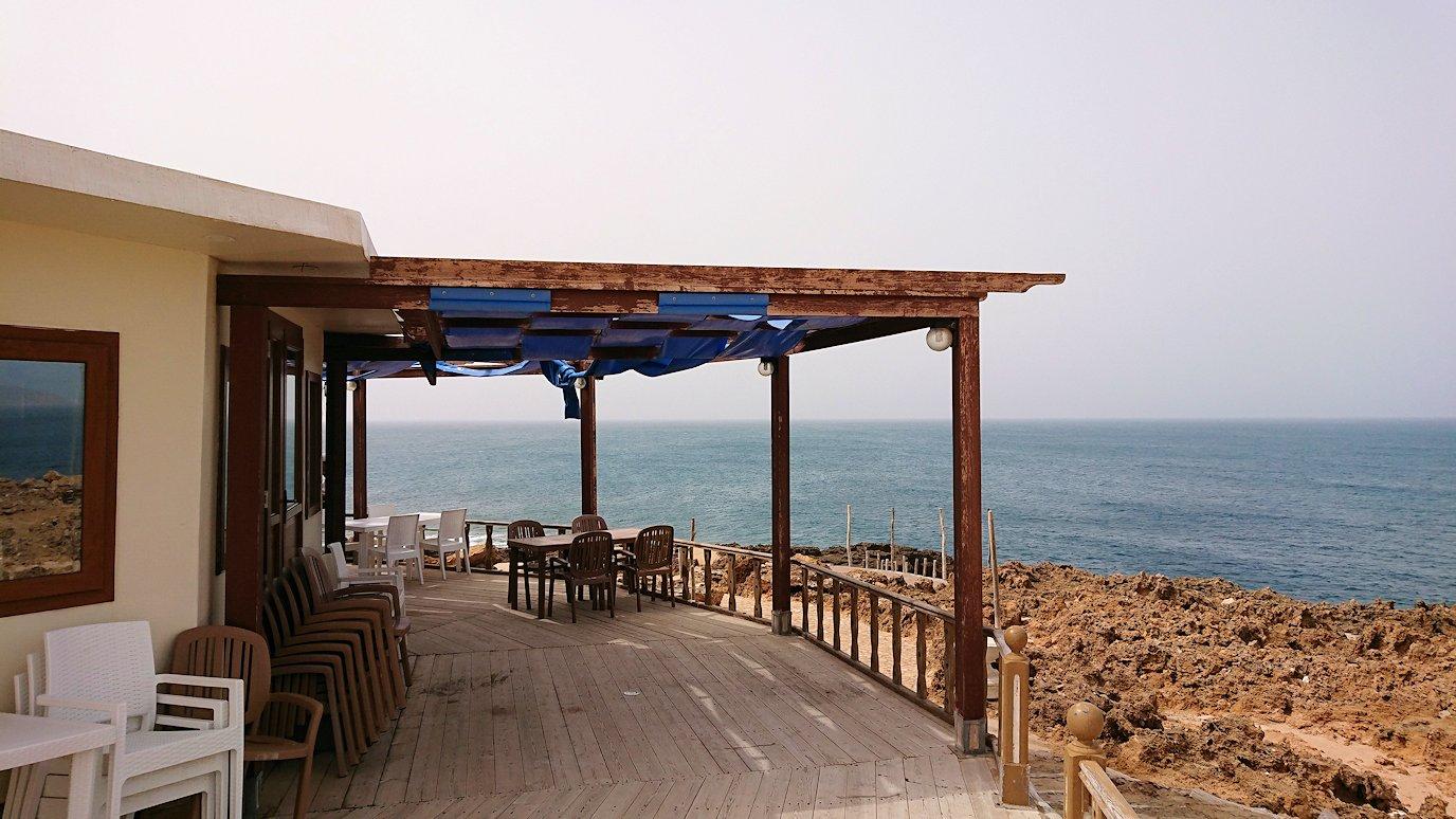 チュニジア:ボン岬のレストラン付近の景色6