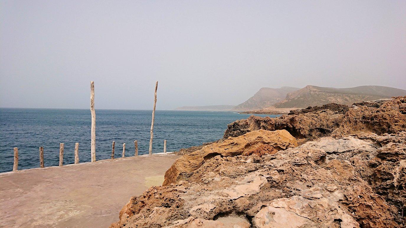 チュニジア:ボン岬のレストラン付近の景色7