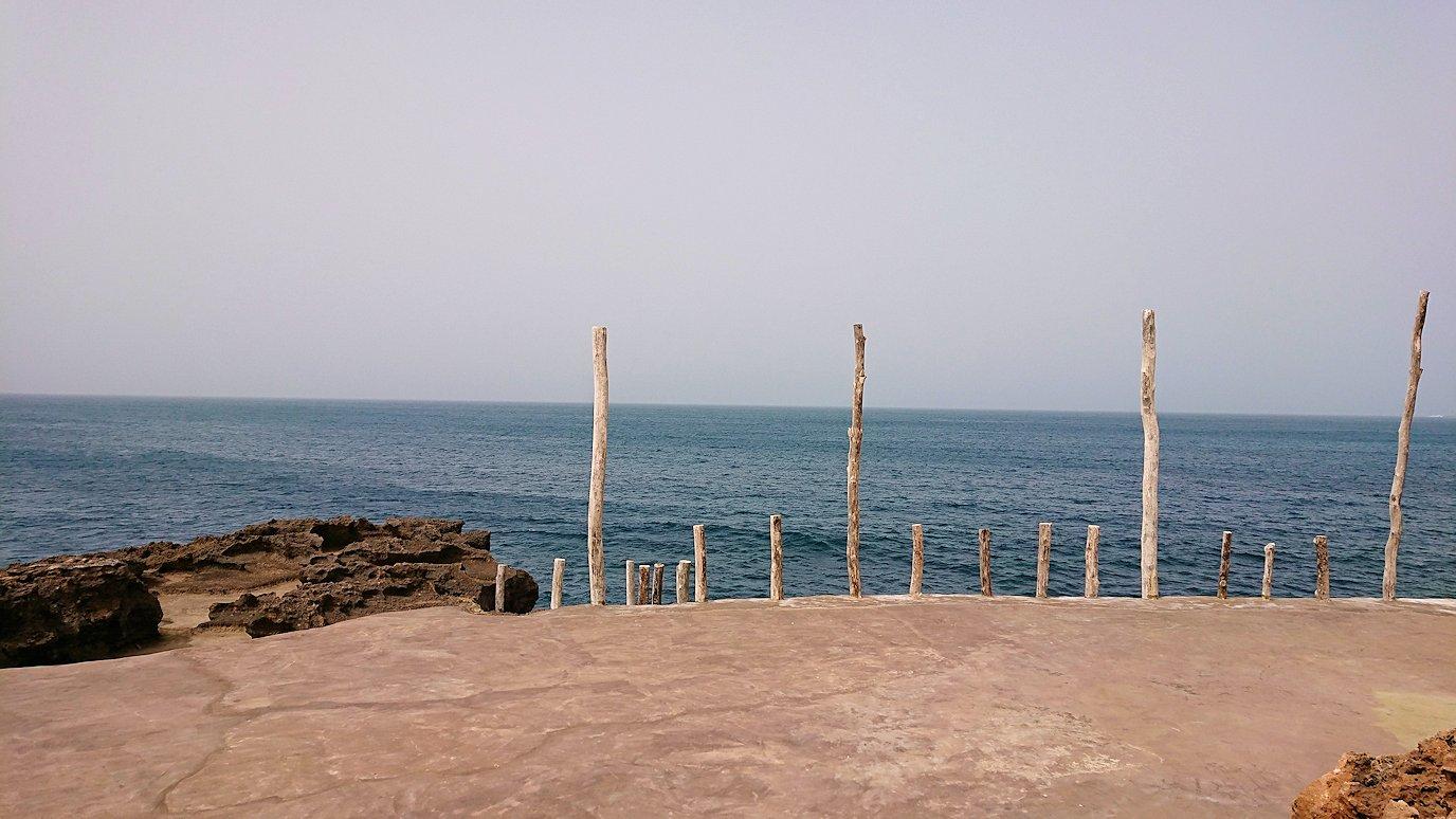 チュニジア:ボン岬のレストラン付近の景色8