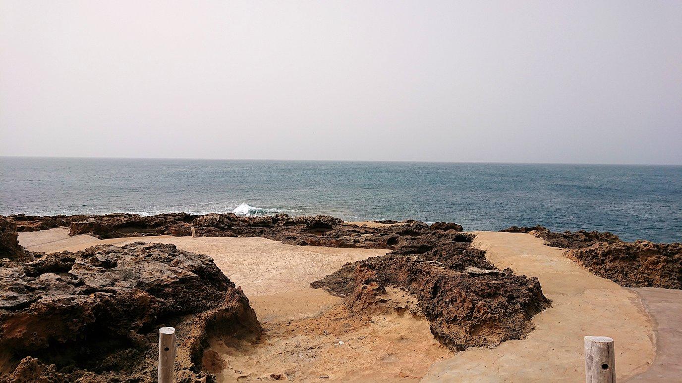 チュニジア:ボン岬のレストラン付近の景色9