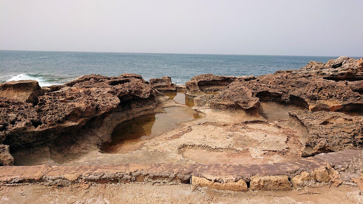 チュニジア:ボン岬から海を見下ろす7