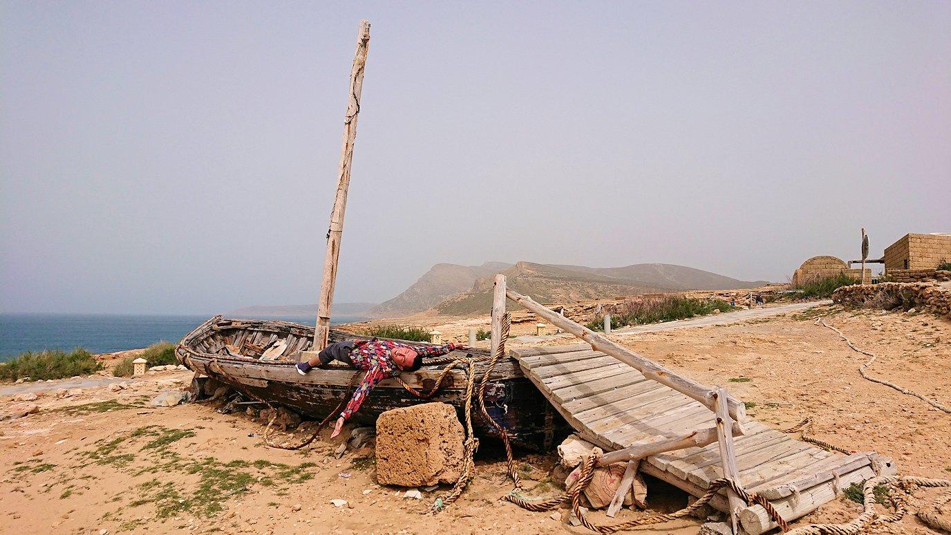 チュニジア:ボン岬から海を見下ろす9