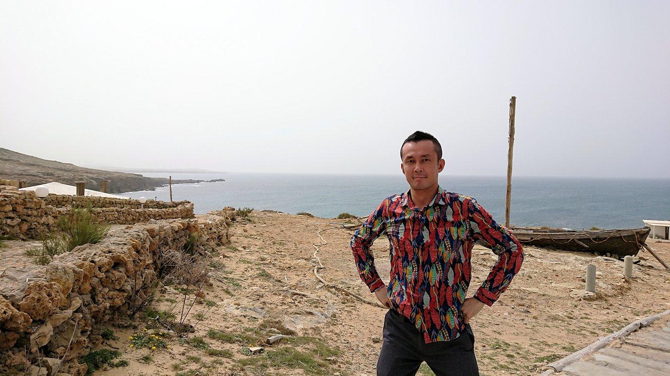 チュニジア:ボン岬から海を見下ろす3
