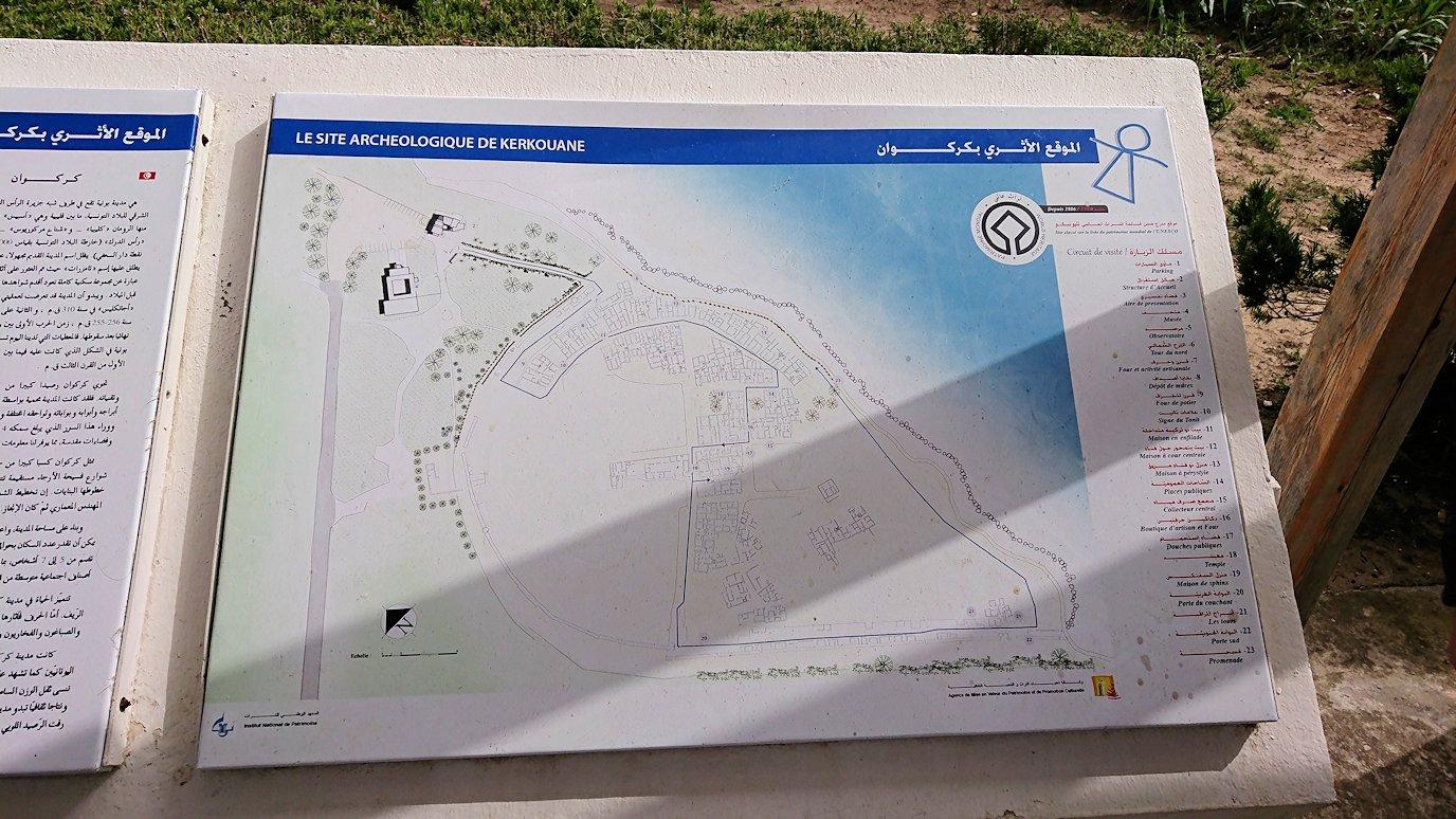 チュニジア:ボン岬のケルクアン遺跡に入場1