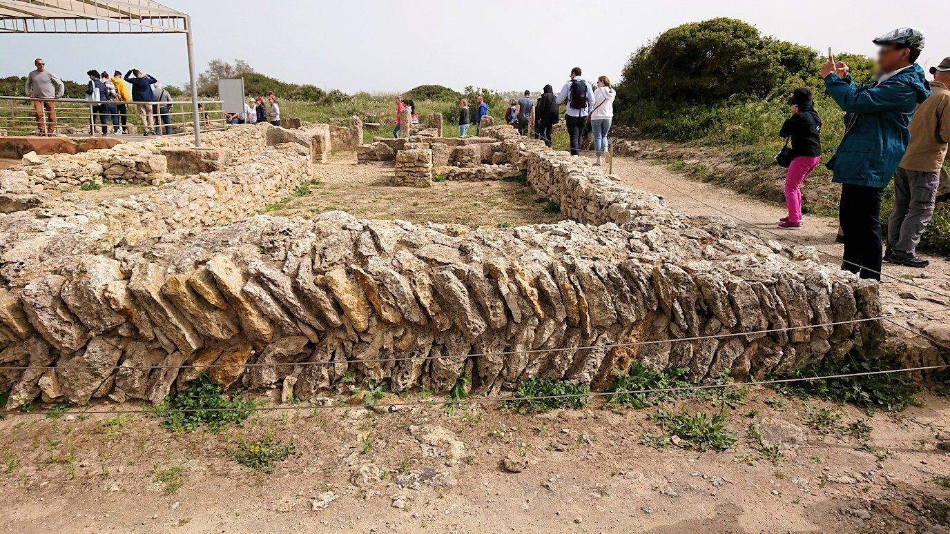 チュニジア:ボン岬のケルクアン遺跡を観光1