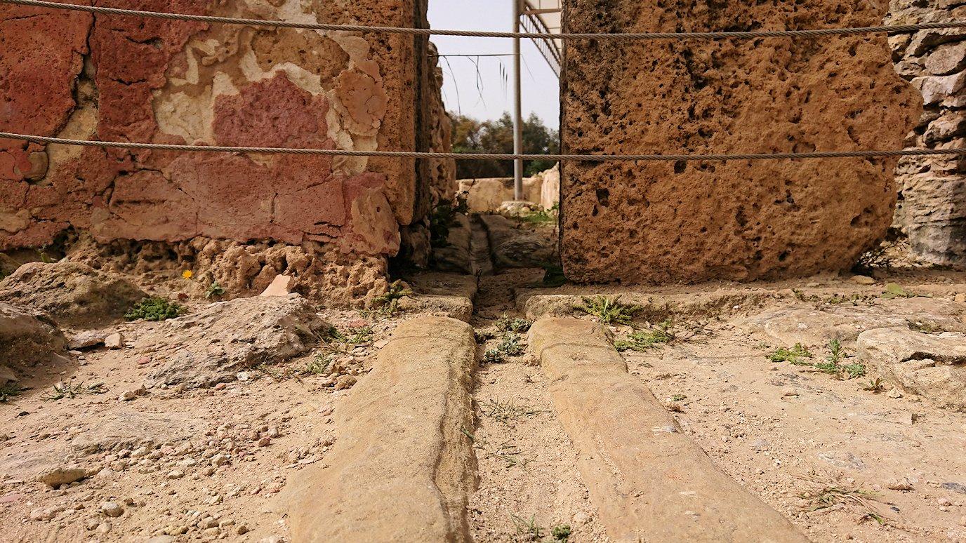 チュニジア:ボン岬のケルクアン遺跡内の説明は続きます9
