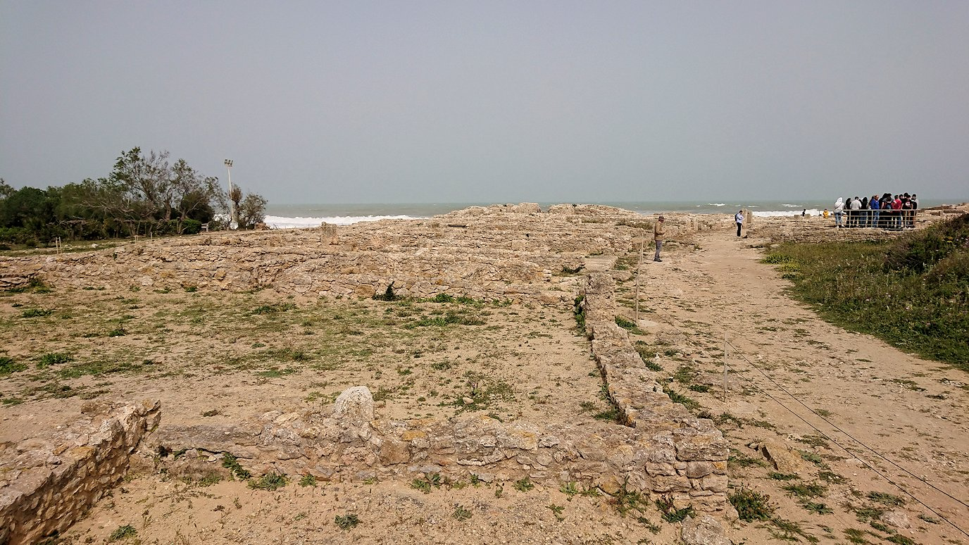 チュニジア:ボン岬のケルクアン遺跡内のタニト神を拝む4