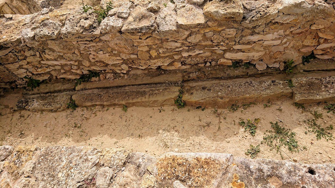 チュニジア:ボン岬のケルクアン遺跡内のタニト神を拝む9