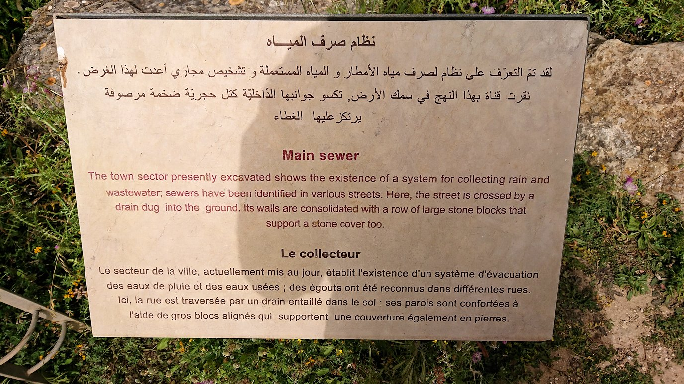 チュニジア:のケルクアン遺跡の散策はまだまだ続く