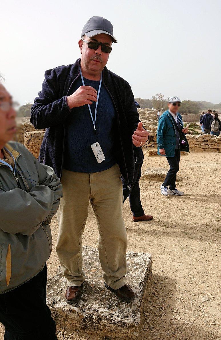 チュニジア:のケルクアン遺跡の海沿いを見学5