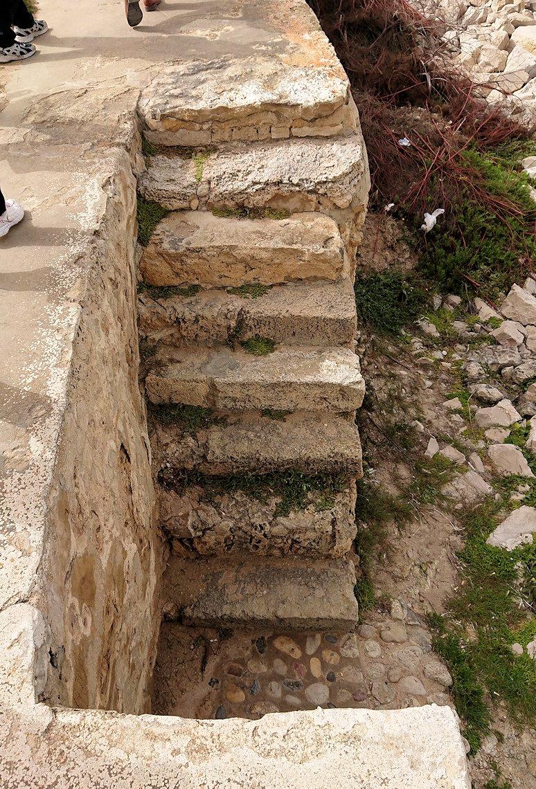 チュニジア:のケルクアン遺跡の海沿いの様子3