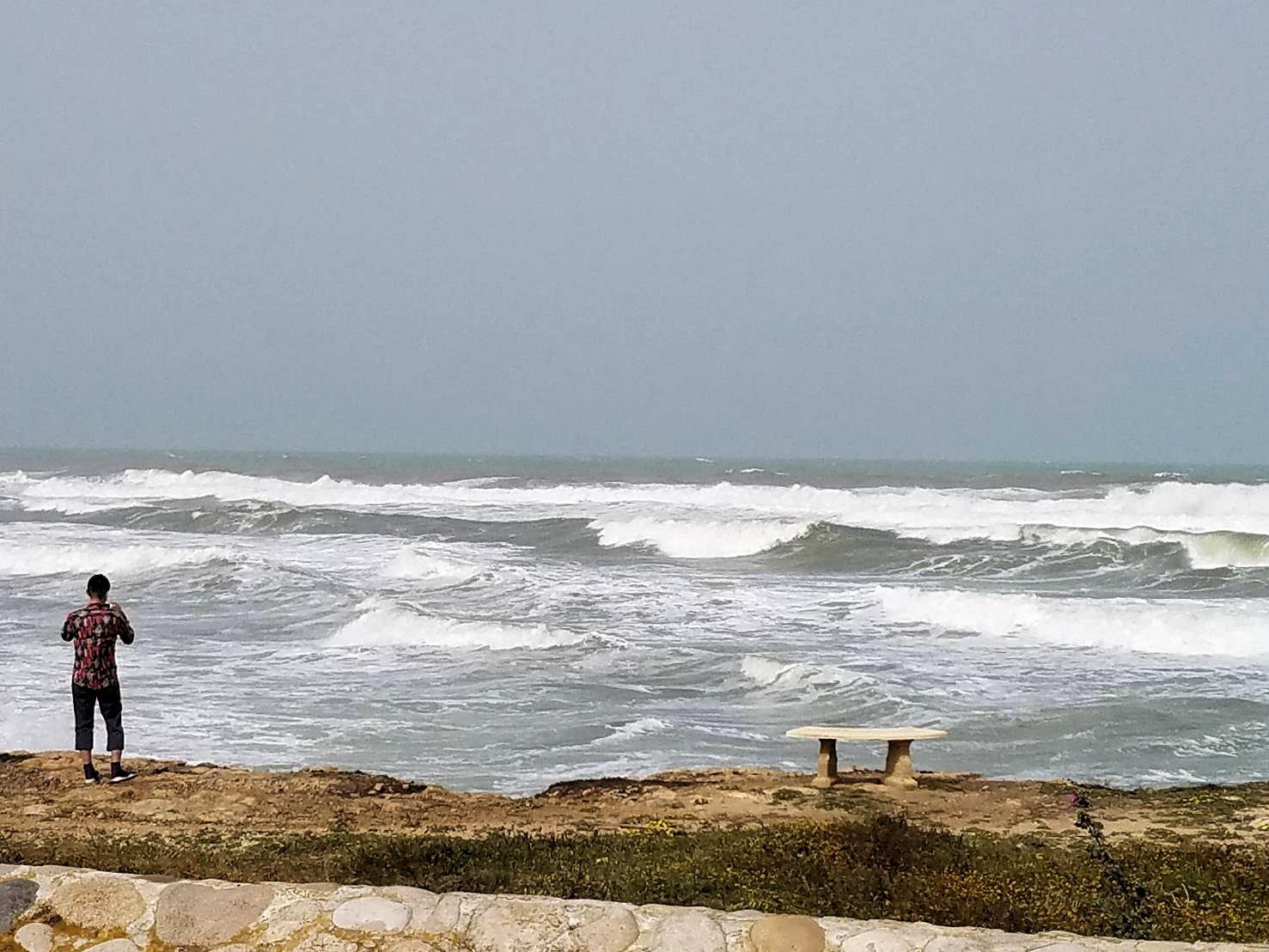 チュニジア:のケルクアン遺跡の海沿いの様子1