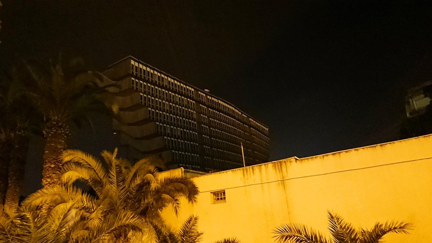 チュニジアのチュニスにあるエルムラディ・アフリカ・ホテルの夕食を食べて、その後夜の街を散策3