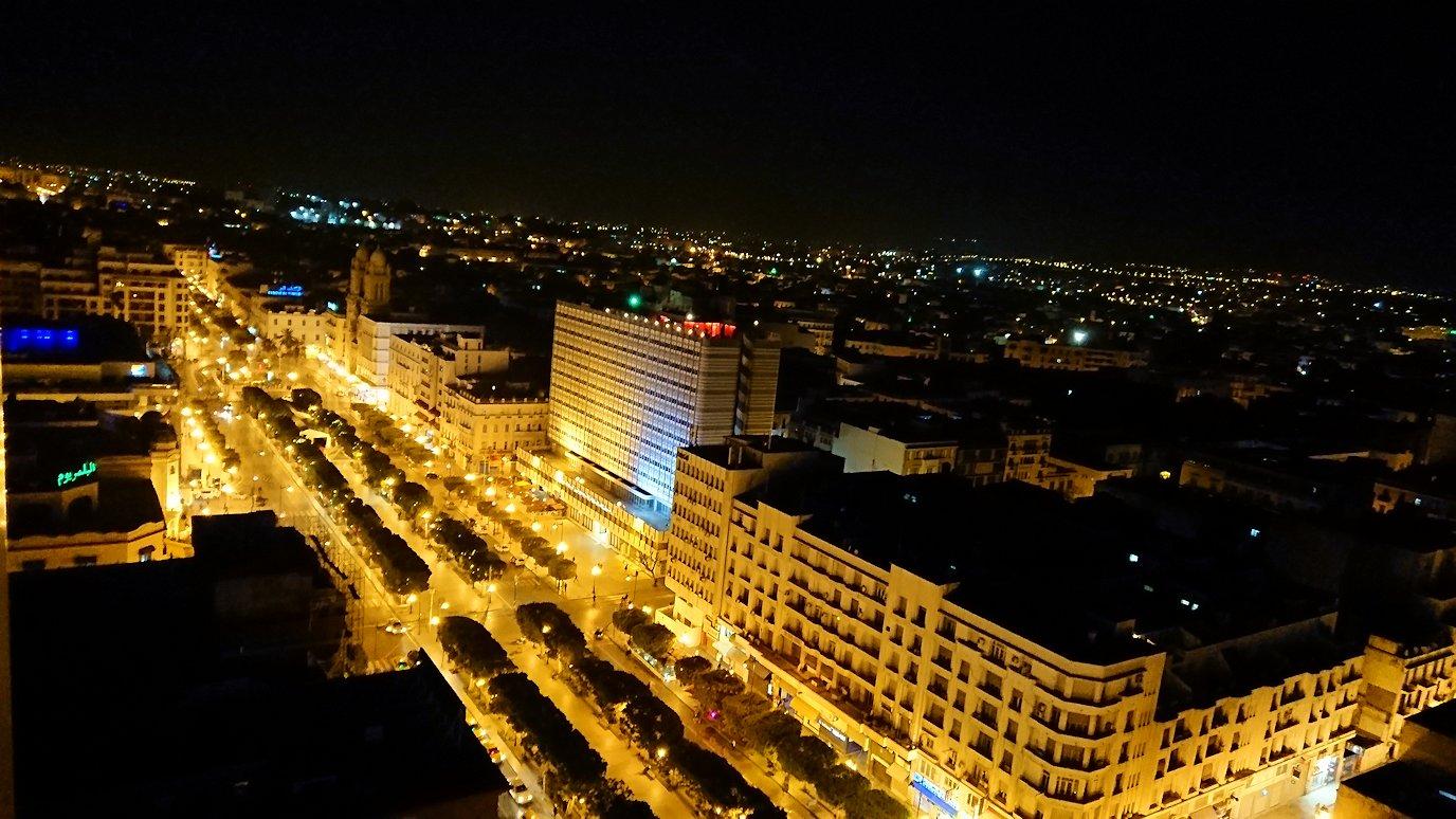 チュニジアのチュニスにあるエルムラディ・アフリカ・ホテルの夕食を食べて、その後夜の街を満喫3