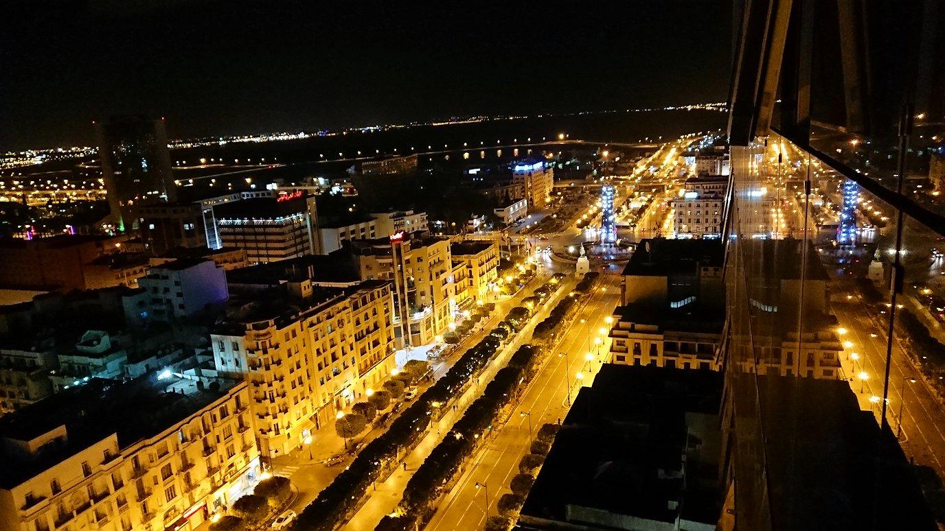 チュニジアのチュニスにあるエルムラディ・アフリカ・ホテルの夕食を食べて、その後夜の街を満喫5
